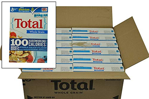 Total Whole Grain Cereal - General Mills Total Whole Grain Cereal, 10.6 Ounce -- 12 per case.