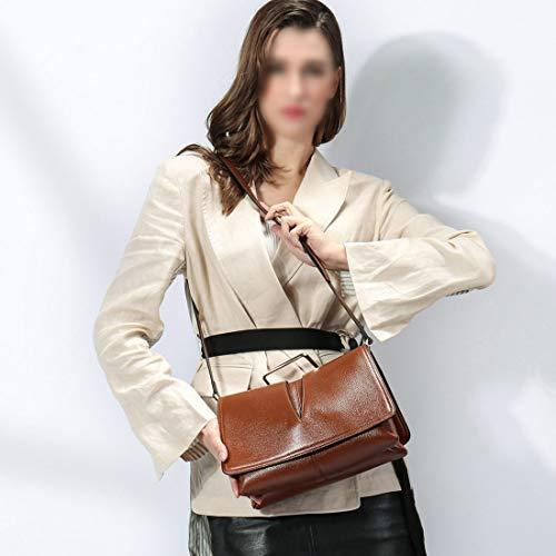 Di Tote Atmosphere Colour Olprkgdg Spalla color Pacchetto Black Bag Simple La A Unita Handbag Per Tinta Caramel Diagonale 8wwpBdq