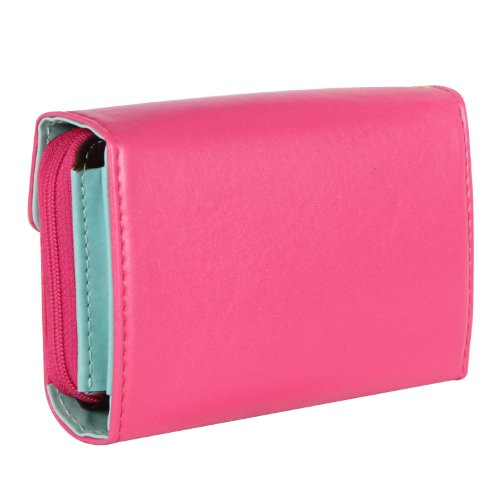 Women Card Crown Gallery Holder Bag Rose Wallet Your Leather Functional Clutch Purse Ladies xqUpCEc4w