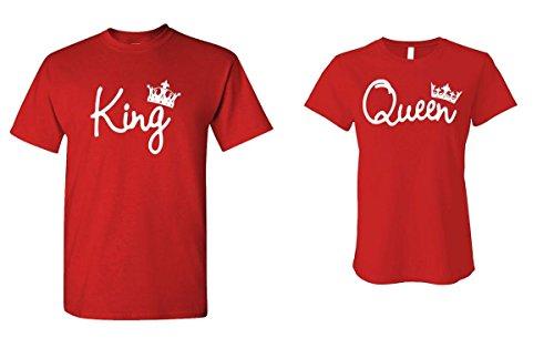 KING QUEEN Cute T Shirt Combo