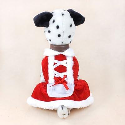 Colorfulhouse Christmas Dog Dress Cute Pet Costumes Pet Apparel