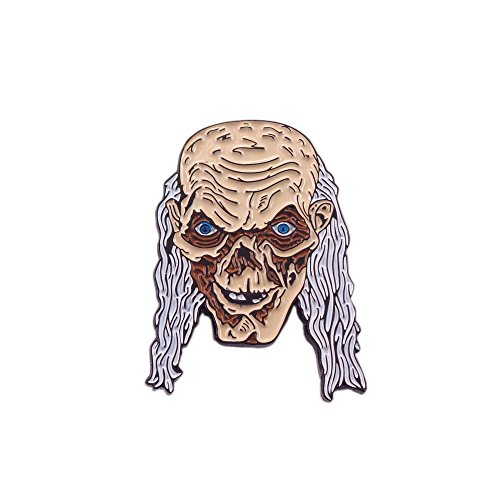 (Tales from the Crypt Crypt-Keeper Skull Horror Movie Enamel Pin Lapel)
