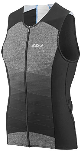 Louis Garneau Men's Pro Carbon Quick Dry, Sleeveless Triathlon Top, Neo-Classic, Large