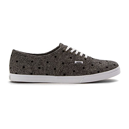 Bestelwagens Unisex Authentieke (tm) Lo Pro Sneaker Marine / True White Tweed Dots