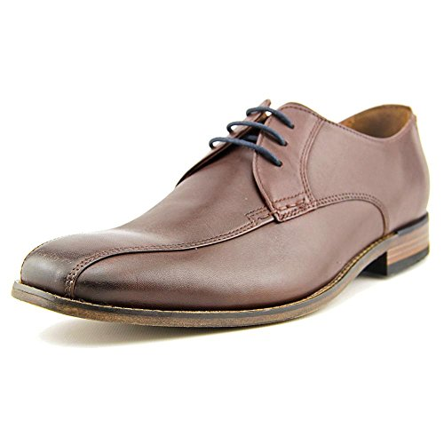 CLARKS Narrate Walk Mens Brown Leather Casual Dress Lace Up Oxfords Shoes