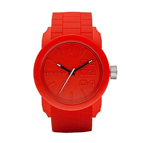 Diesel Men's DZ1440 Double Down Red Silicone Watch from Diesel