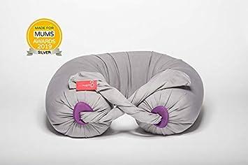 230x31,5 bbhugme/® Schwangerschaftskissenbezug Stone