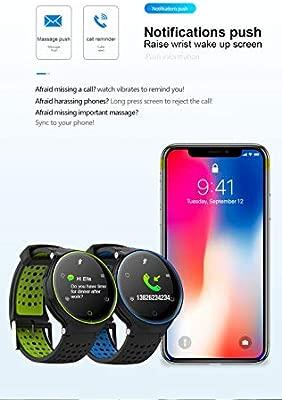 SJUAN Smartwatch, Reloj Rastreador De Actividad, Rastreador De ...