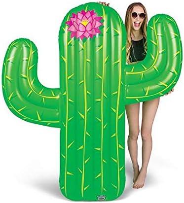 BigMouth Inc – Flotador Hinchable Cactus Gigante – Inflable Colchoneta Piscina Playa