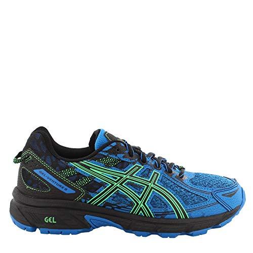 ASICS - Unisex-Child Gel-Venture 6 Gs Shoes, Size: 5.5 M US Big Kid, Color: Blue/New Leaf