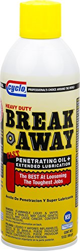Niteo Cyclo Break Away Penetrating Oil and Lubricant, Aerosol Spray, 13 fl oz, Case of 12 by Niteo