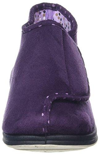 Para De Cherish Padders Mujer Casa lilac Por Morado Botas purple Estar Yxppw47
