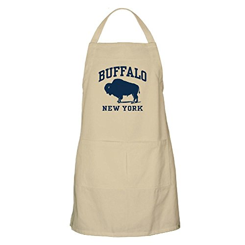 CafePress Buffalo New York BBQ Apron Kitchen Apron with Pockets, Grilling Apron, Baking Apron