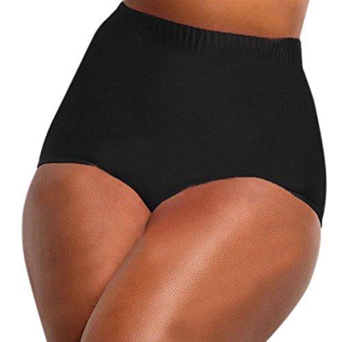 Femme Grande Maillot de Bain, LMMVP Femmes Taille Haute Bikini Grande  Taille Bottom Pantalon de 17adddbdc33