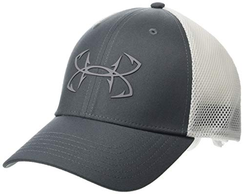 Under Armour Outerwear Men's Fish Hunter Cap, Pitch Gray (012)/Steel, Medium/Large ()