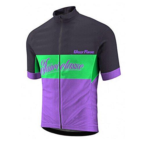 (Uglyfrog Bike Wear Newest Designs Men's Cycling Jersey Short Sleeves Bicycle Bike Racing Clothing/Shirt)