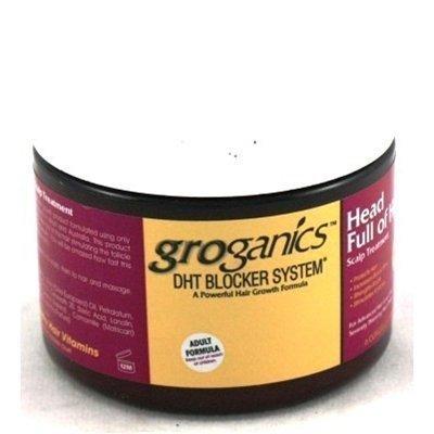 Groganics Dht Head Full Of Hair Treatment 6oz (3 Pack) by Groganics by Groganics