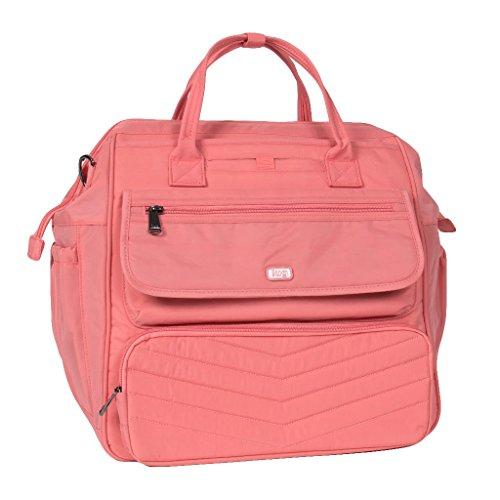 Lug Women's via Convertible Travel Duffel Bag, Blush Pink, One Size by Lug