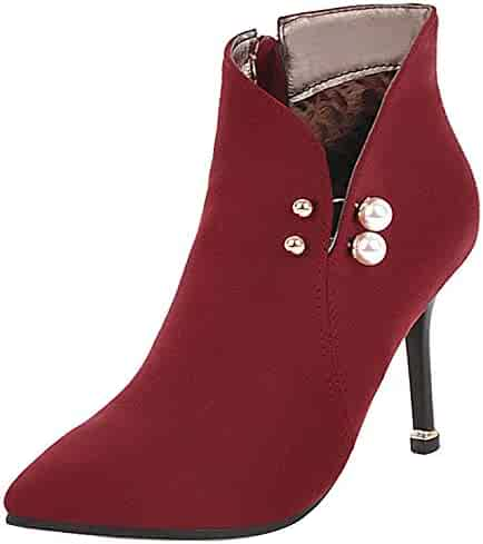 665b6768ac483 Shopping Red or Green - Dress - Ankle & Bootie - Boots - Shoes ...
