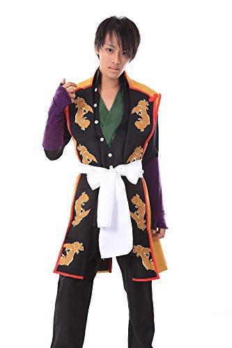 [De-Cos Hakuouki Shinsengumi Kitan Cosplay Costume Okita Souji 1st Ver Set] (Okita Souji Cosplay Costume)