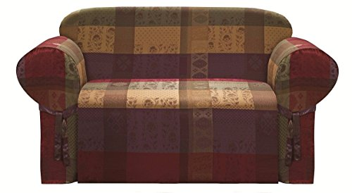 (Collection Gitano Moroccan Jacquard Patchwork Slipcover,)