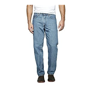 6d2bbbf1 Carhartt Men's Rugged Flex Relaxed Double Front Jean - Denim Fit