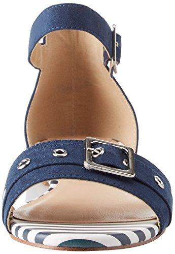 Femme Bride BATA Blu 9 Sandales Bleu Cheville 569277 p4RRIAn