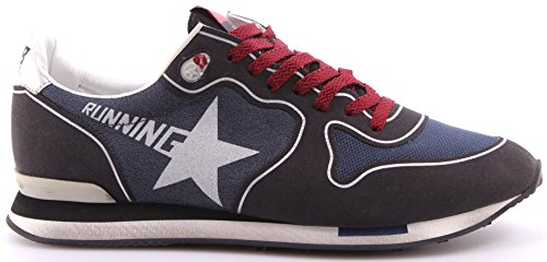 GOLDEN GOOSE Zapatos Hombres Sneakers Running Navy Asphalt Made In Italy Nueve