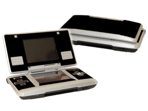 Nintendo DS Skin (Original) – NEW – GLOSS BLACK system skins faceplate decal mod Review