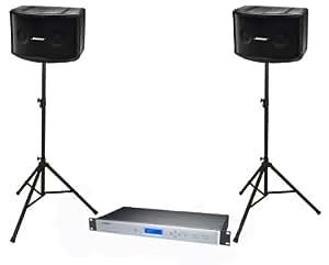 Bose Panaray 802 Basic Loudspeaker System (includes Digital controller & Ultimate Support Speaker Stands)