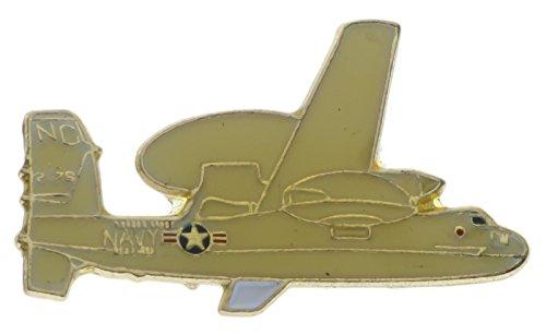 - Navy E2-D Hawkeye AWACS Plane 1 inch hat lapel pin RA3076D163