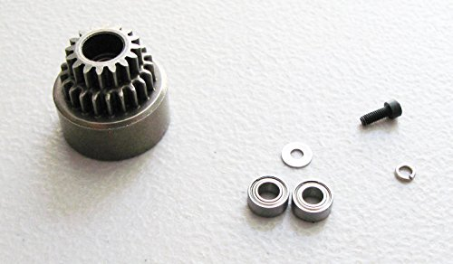 NEW REDCAT RACING TORNADO S30 2 SPEED CLUTCH BELL WITH BEARINGS AND WASHERS