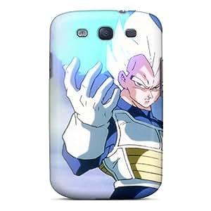 Samsung Galaxy S3 YMO7906IYAi Support Personal Customs Lifelike Vegeta Dragon Ball Z Pattern Scratch Protection Hard Cell-phone Cases -AshtonWells