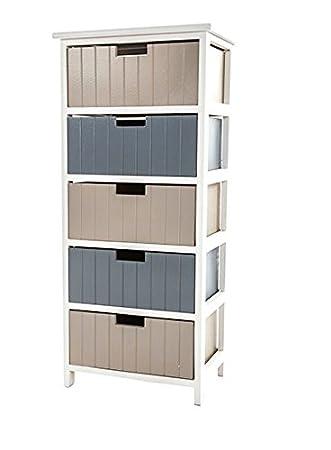 Aufbewahrung 5 Schublade Einheit Kleidung Schlafzimmer Badezimmer