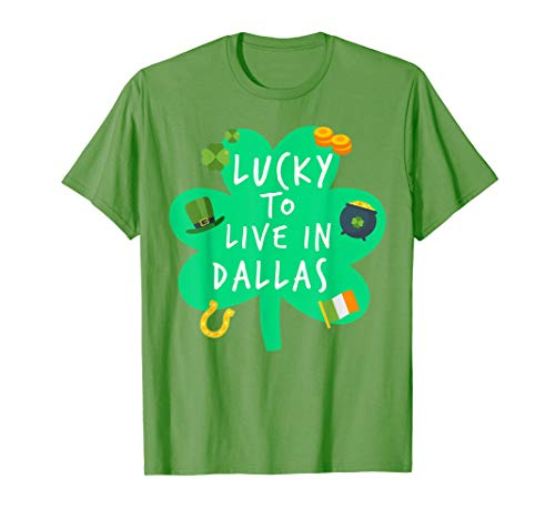Lucky To Live In Dallas St Patricks Costume -