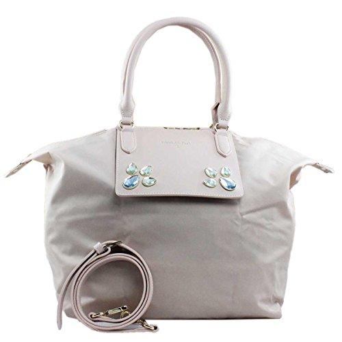 PATRIZIA PEPE Shopping Bag Trasformabile 2V6581 Butterfly Rose Studs