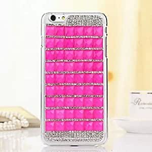 TOPMM Stick Drill Pattern TPU Cover for iPhone 6 Plus (Assorted Colors) , 4#