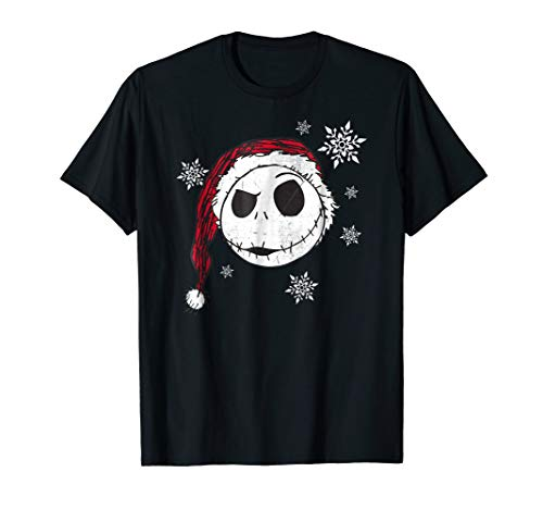 Disney Nightmare Before Christmas Snowflake Tshirt
