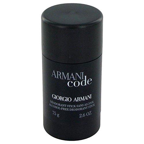 (Armani Code by Giorgio Armani Deodorant Stick 2.6 oz for Men - 100% Authentic)