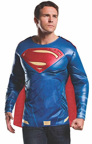 Rubies Costume Men's Batman v Superman: Dawn of Justice Superman Muscle Chest Top, Multi, X-Large ()