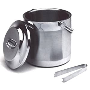 Norpro 3.6 Quart Stainless Steel Double Wall Ice Bucket