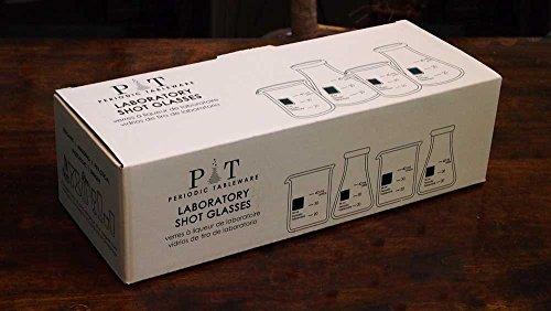 Periodic Tableware Laboratory Shot Glasses