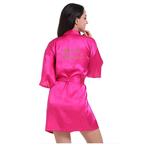 Free Fisher Camisones Mujer Suelta Batas con Cinturón Pijama de Seda: Amazon.es: Ropa y accesorios