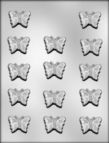 CK Products 1-3/8-Inch Butterfly Chocolate Mold (Butterfly Chocolate Mold)