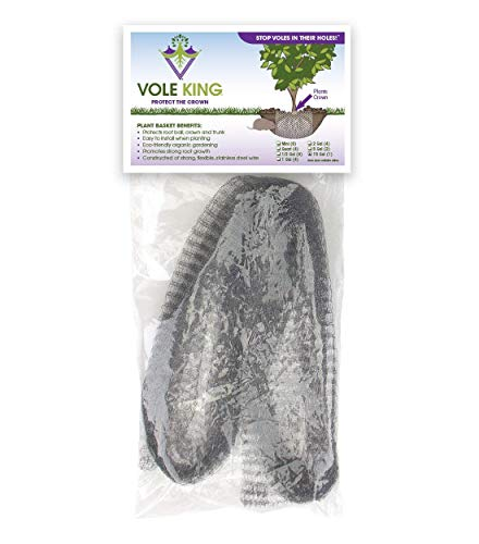 VOLE KING Plant Baskets, 15 Gallon, Pack of 1 - Protect Plants, Trees and Flowers from Voles, Gophers, Moles Without Repellent - Protect Landscaping from Mini Burrowing Animals - A One Time Solution
