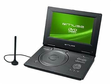 Muse M-968DP - Reproductor de DVD portátil de 9