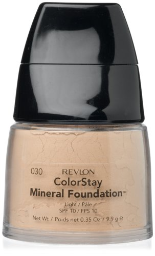 Revlon Mineral Powder - Revlon ColorStay Mineral Foundation, Light, 0.35 Ounces