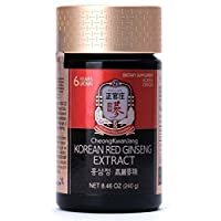 KGC Cheong Kwan Jang [Korean Red Ginseng Extract] For Extra Strength, Energy, Performance, Immune System Booster, Natural Energy Stamina, Blood Circulation and Mental Health Support - 240g