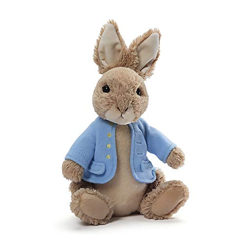 (GUND Classic Beatrix Potter Peter Rabbit Stuffed Animal Plush, 6.5