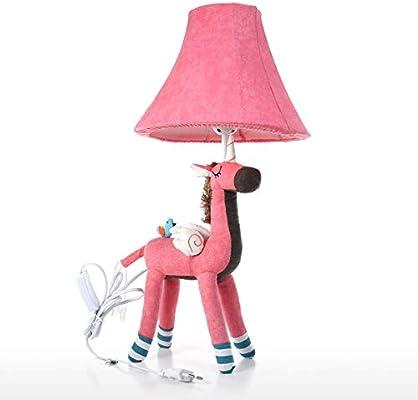 Tooarts Unicornio Lámpara de Mesa Rosa UE Enchufe Escritorio ...